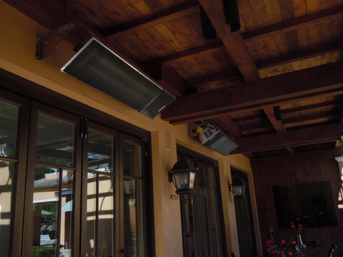 Outdoor deck heaters