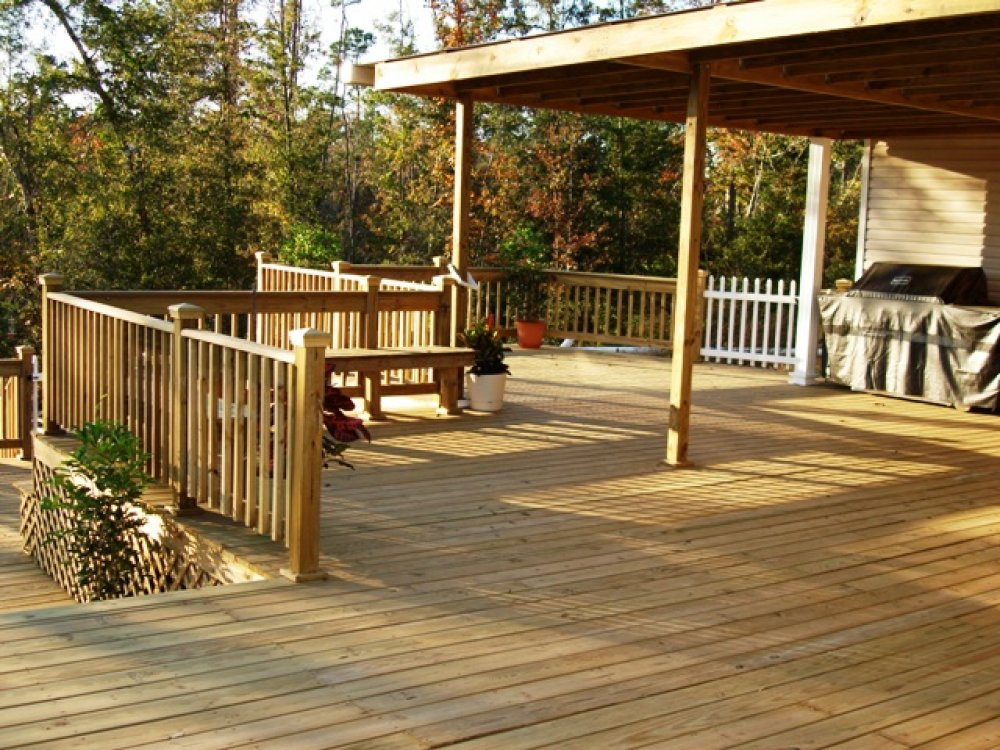 Outdoor deck pictures