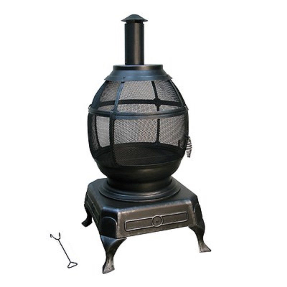 Outdoor fireplace ebay