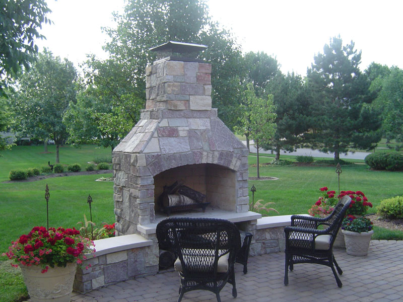 Outside fireplace for sale