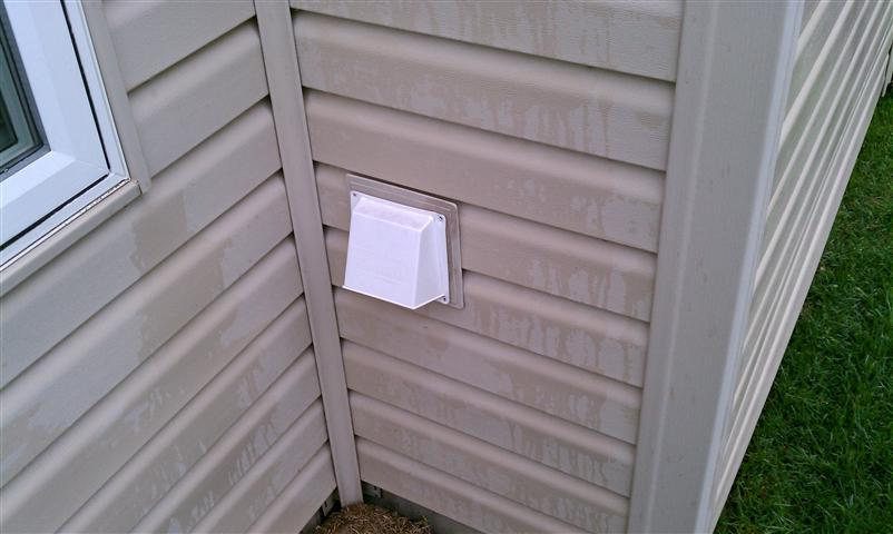 Outside fireplace vent covers
