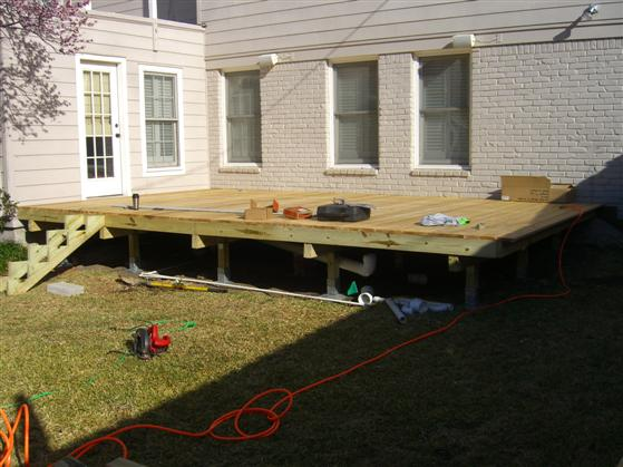Oz deck foundation system
