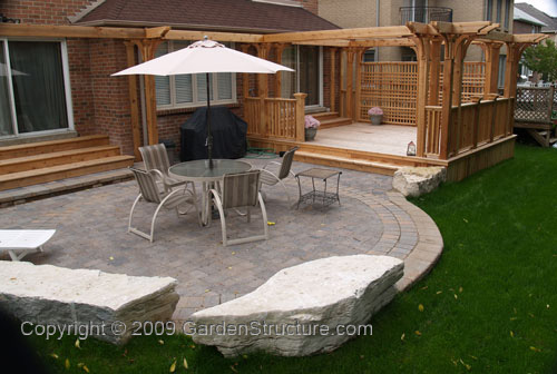 Pictures of deck and patio designs