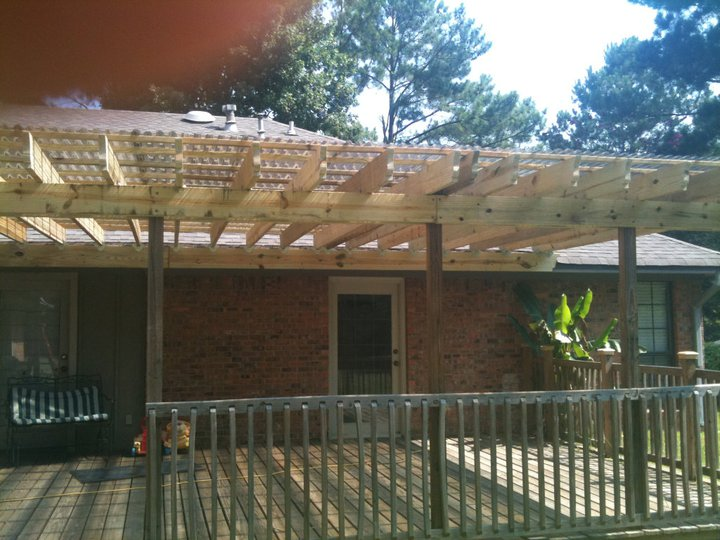Pictures of deck roofs