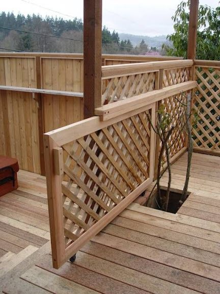 Pool deck gate ideas