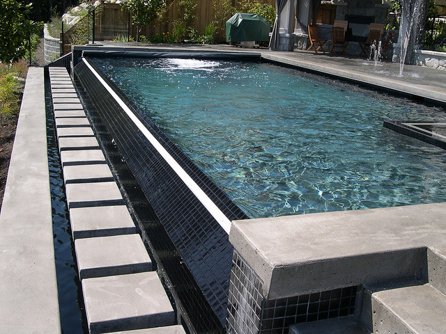Pool deck jet covers