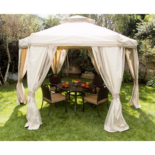 Portable deck gazebo