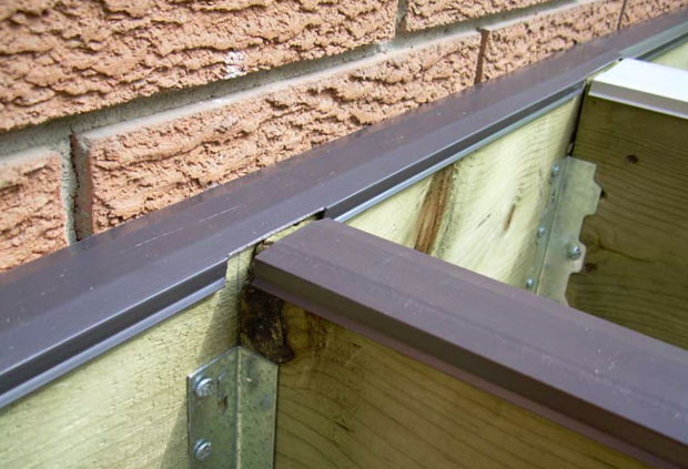 Protect a deck joist seal