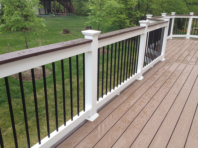 Pvc deck balusters