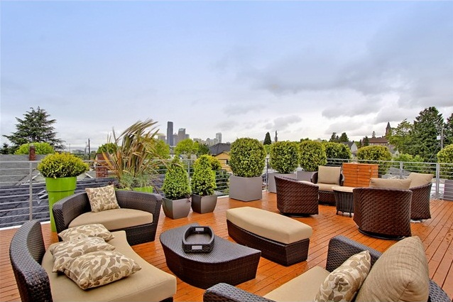 Roof deck furniture
