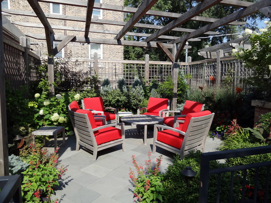 Roof deck garden ideas