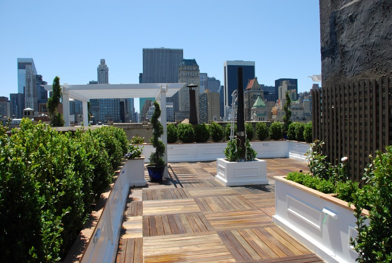 Roof deck new york