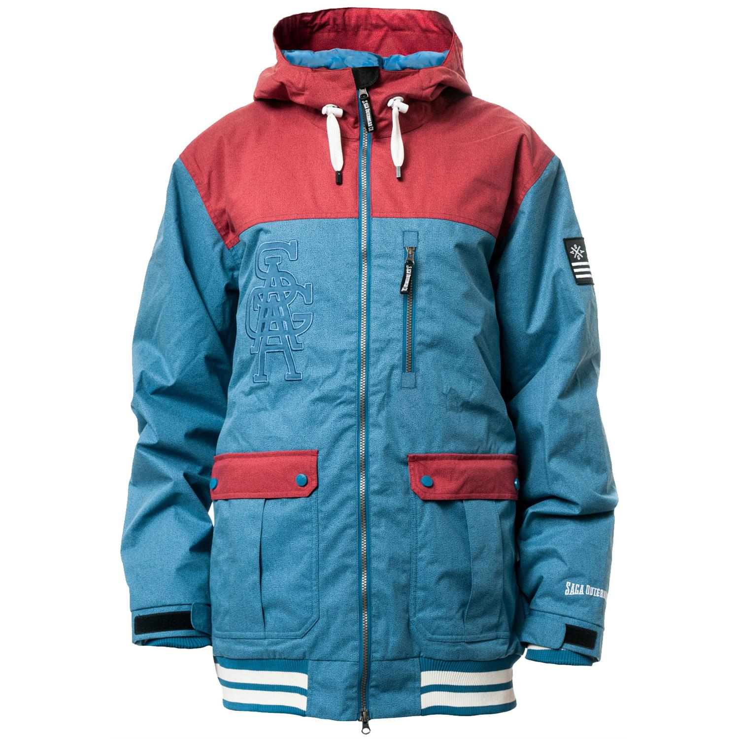 Saga on deck jacket blue