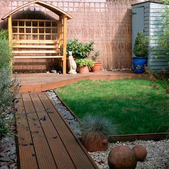 Small deck garden ideas