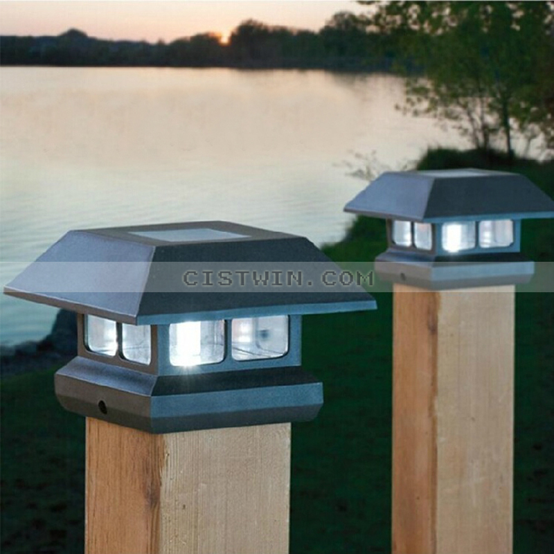 Solar deck post lights wholesale