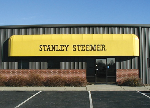 Steamer deck and patio awning
