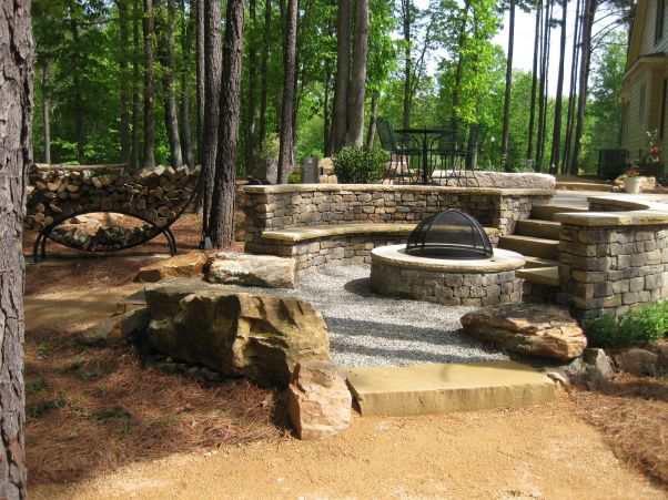 Small Deck Fire Pit Deck Design And Ideas