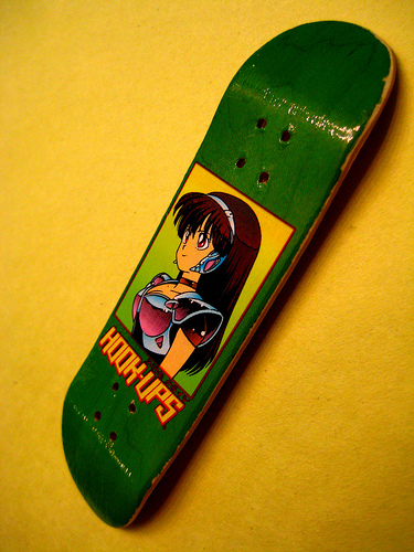 Tech deck hook up