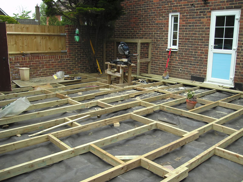 Timber deck images
