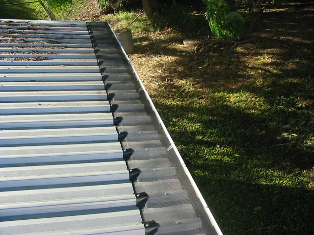 Trimdek gutter guard