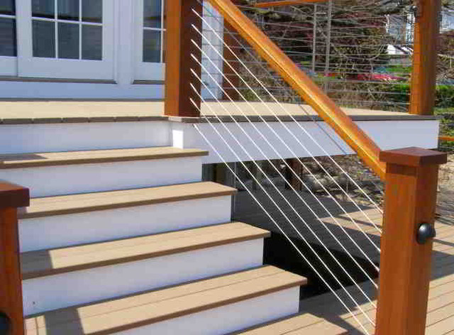 Ultra deck stairs