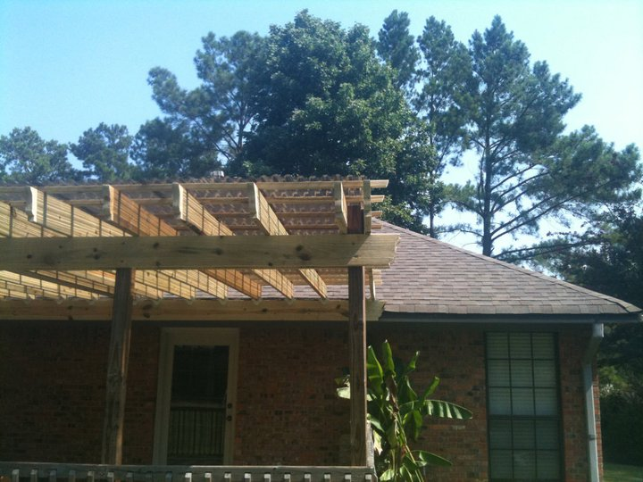V deck roofing