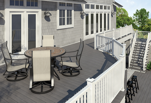 Veranda deck post kit
