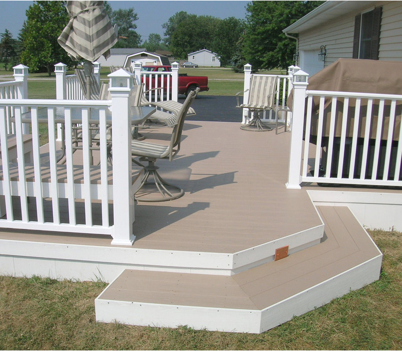 Vinyl deck colors