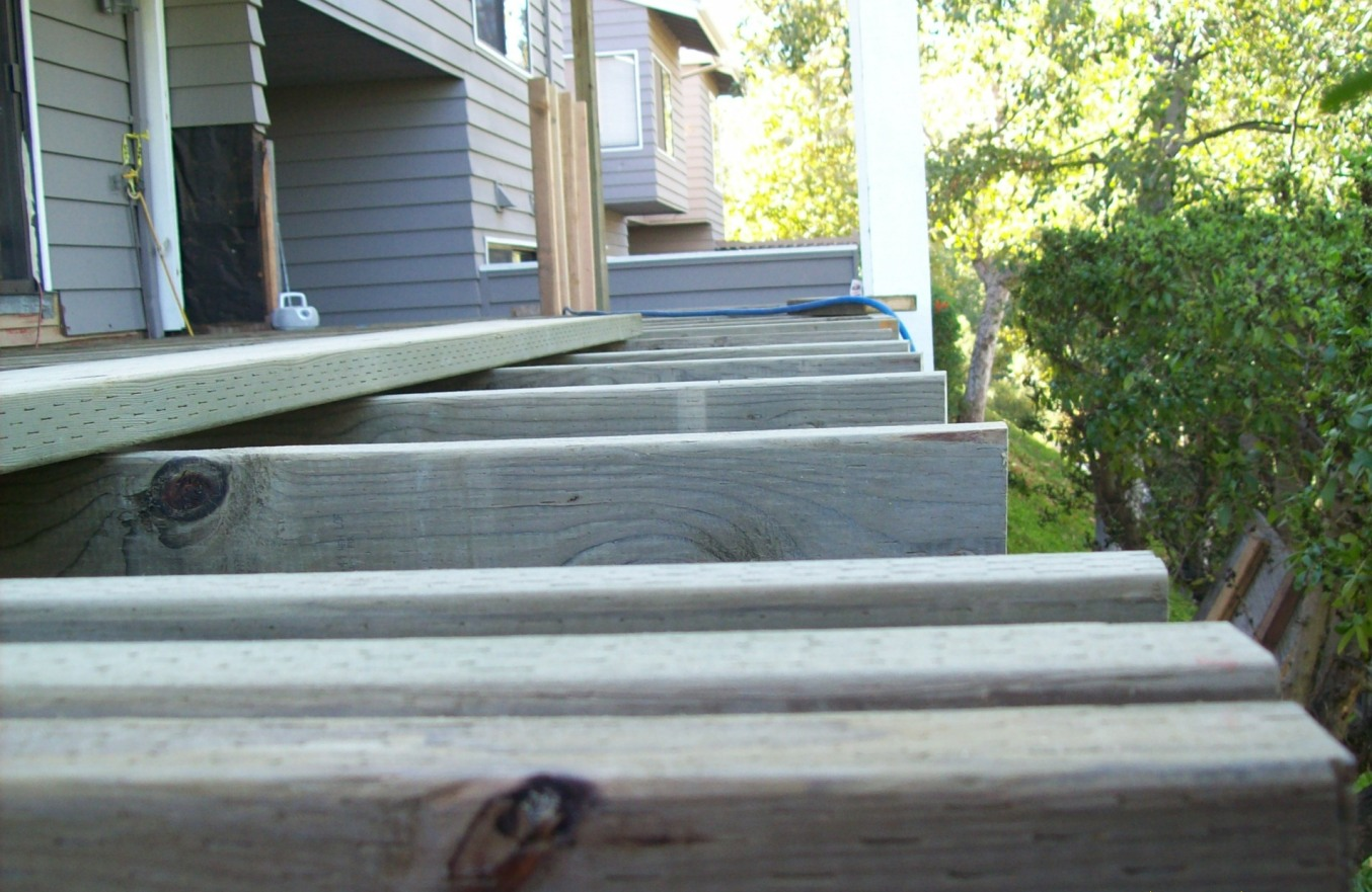 Building a wooden deck on the ground deck design and ideas for Timber decking calculator