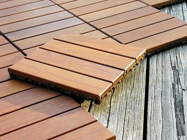 Wood deck flooring designs