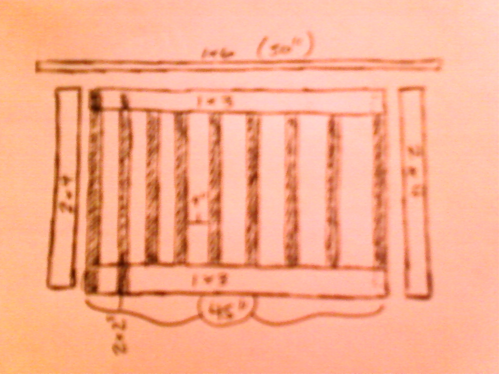 Wood deck gate plans
