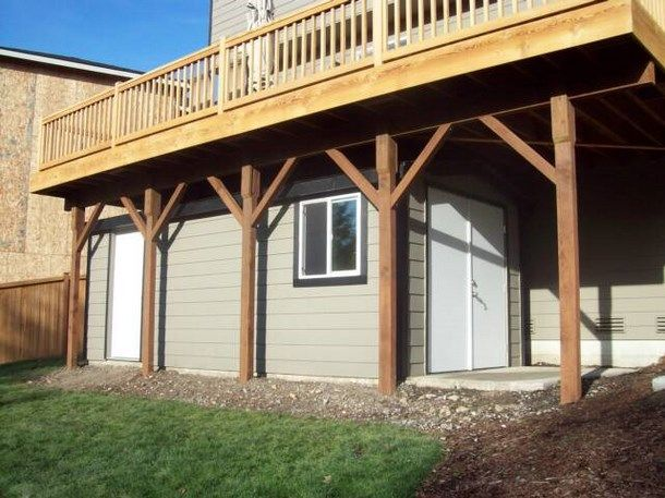 Wood deck kits for sale