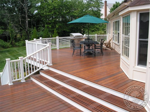 Wood deck lifespan
