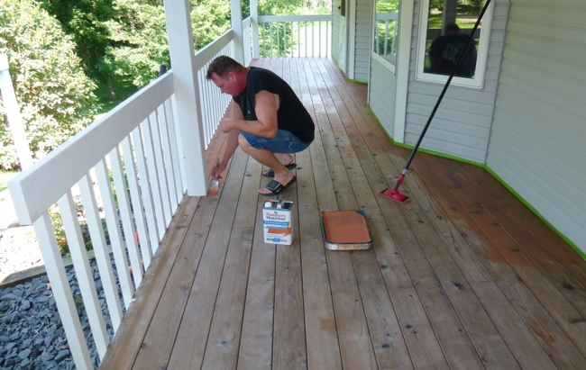 Wood deck waterproofing reviews