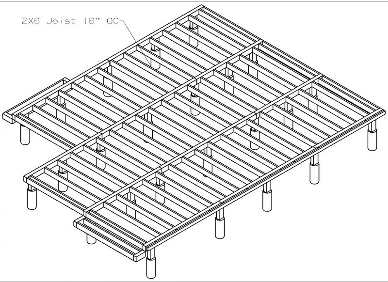 2 X 6 Deck Joists Deck Design And Ideas