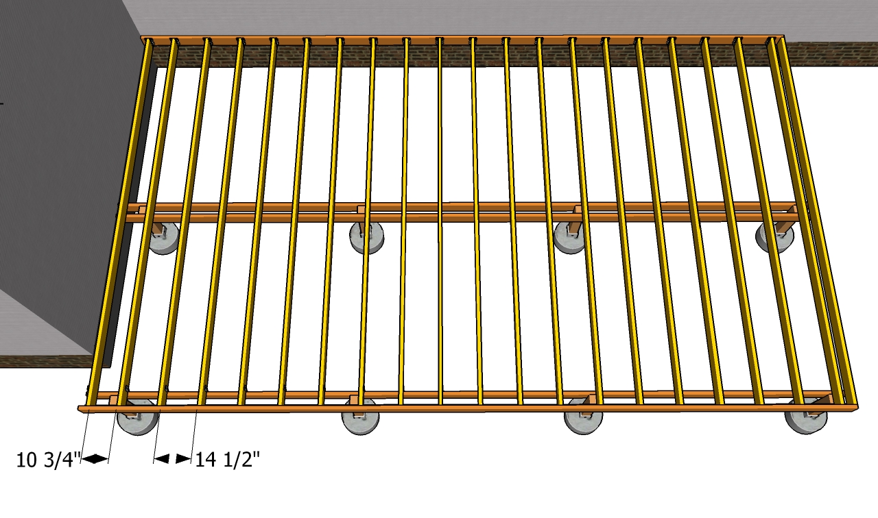 Building a deck joist spacing deck design and ideas for Timber decking spacers