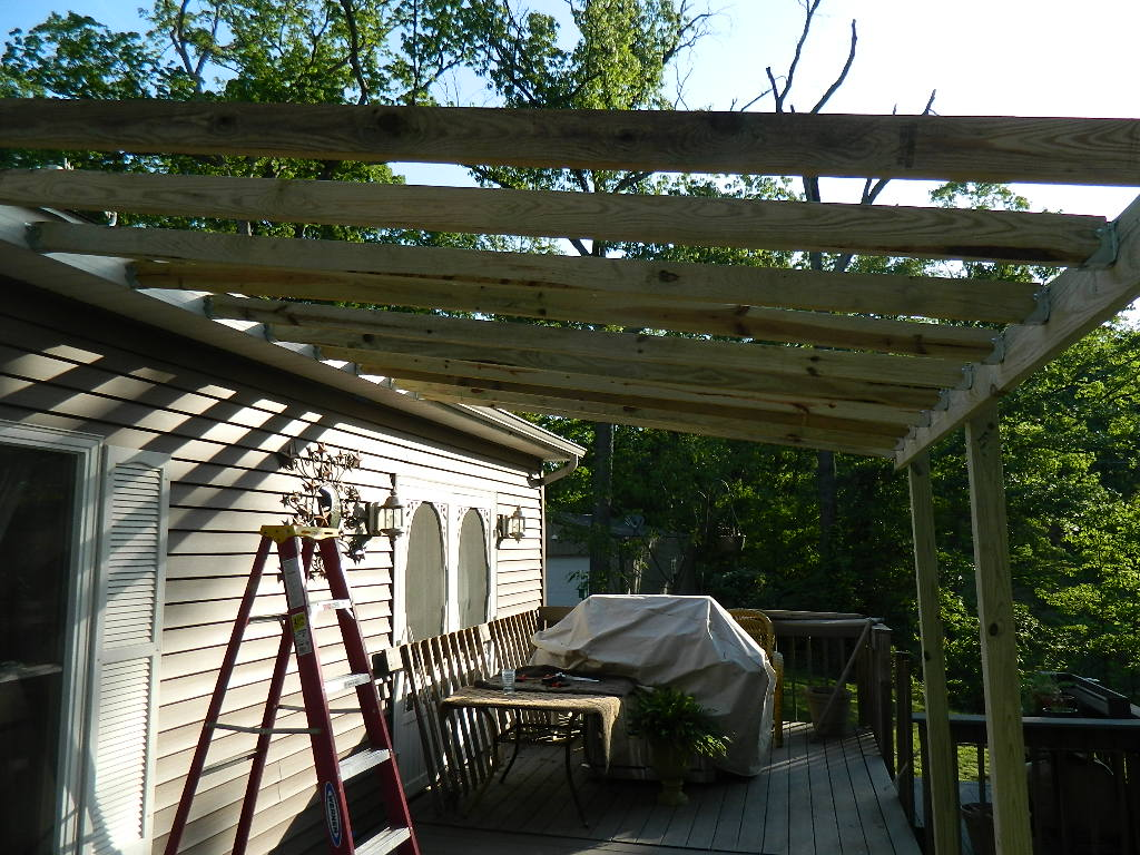 Building a deck roof deck design and ideas for Building a front porch deck