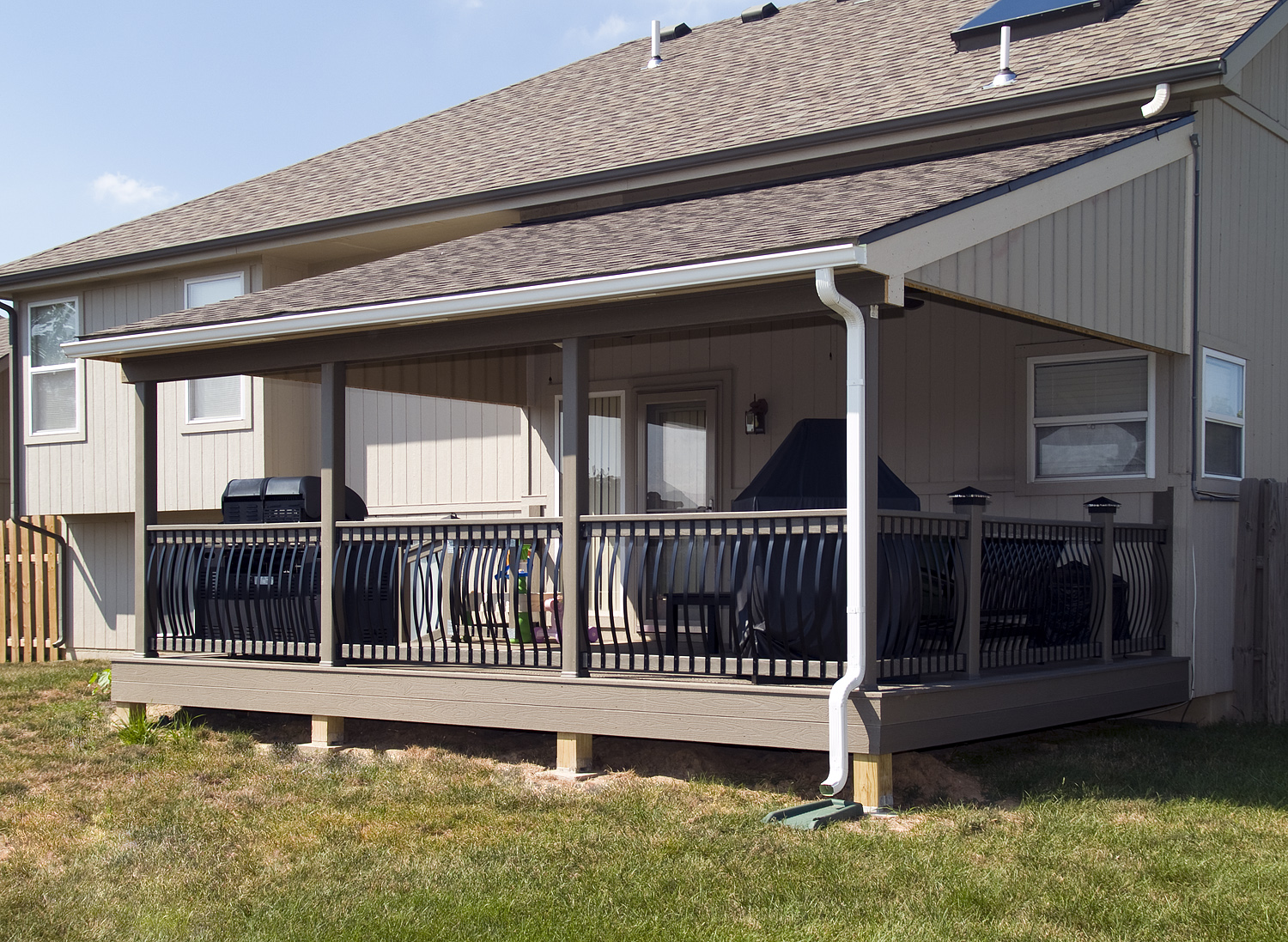 covered deck pictures design