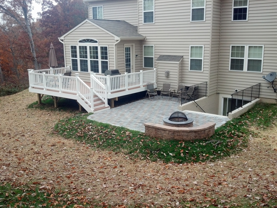 Deck And Patio Combination Pictures
