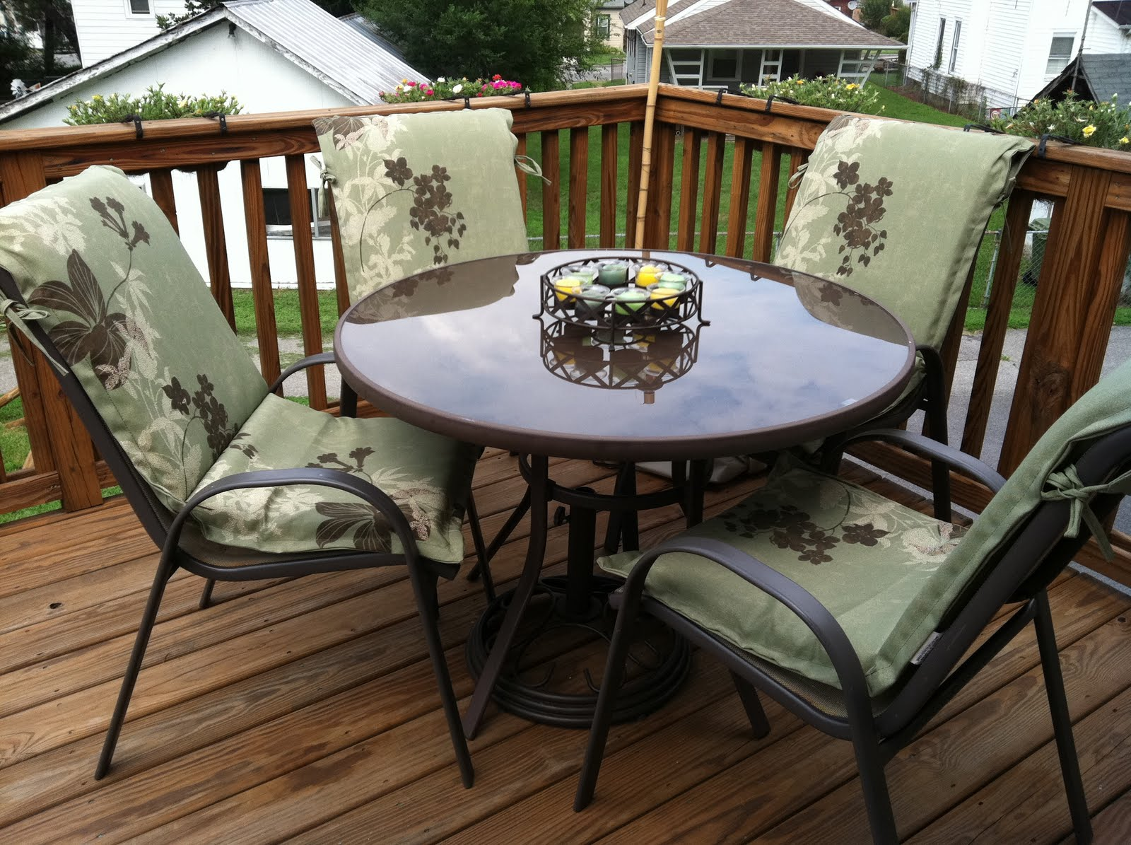 deck and patio furniture