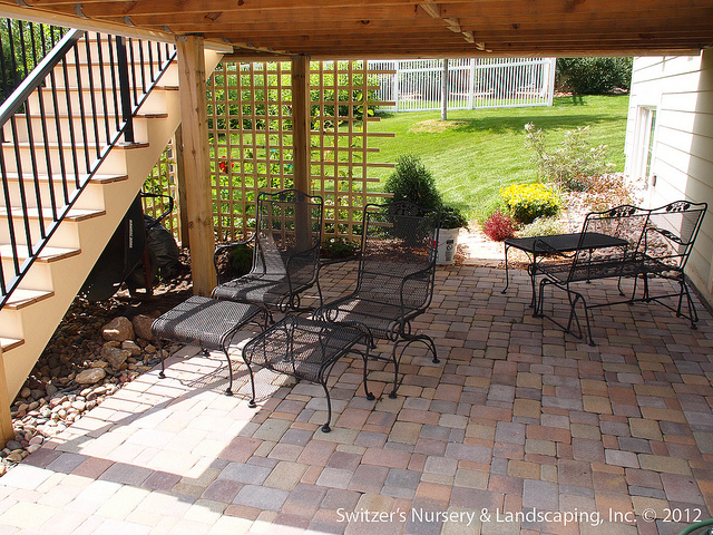 deck and patio landscaping ideas