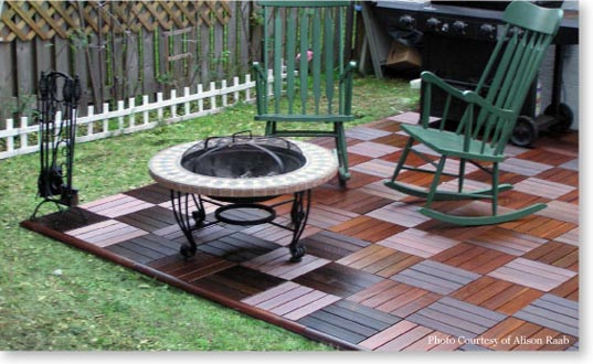 deck and patio tiles