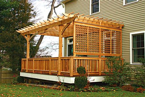 deck and pergola designs
