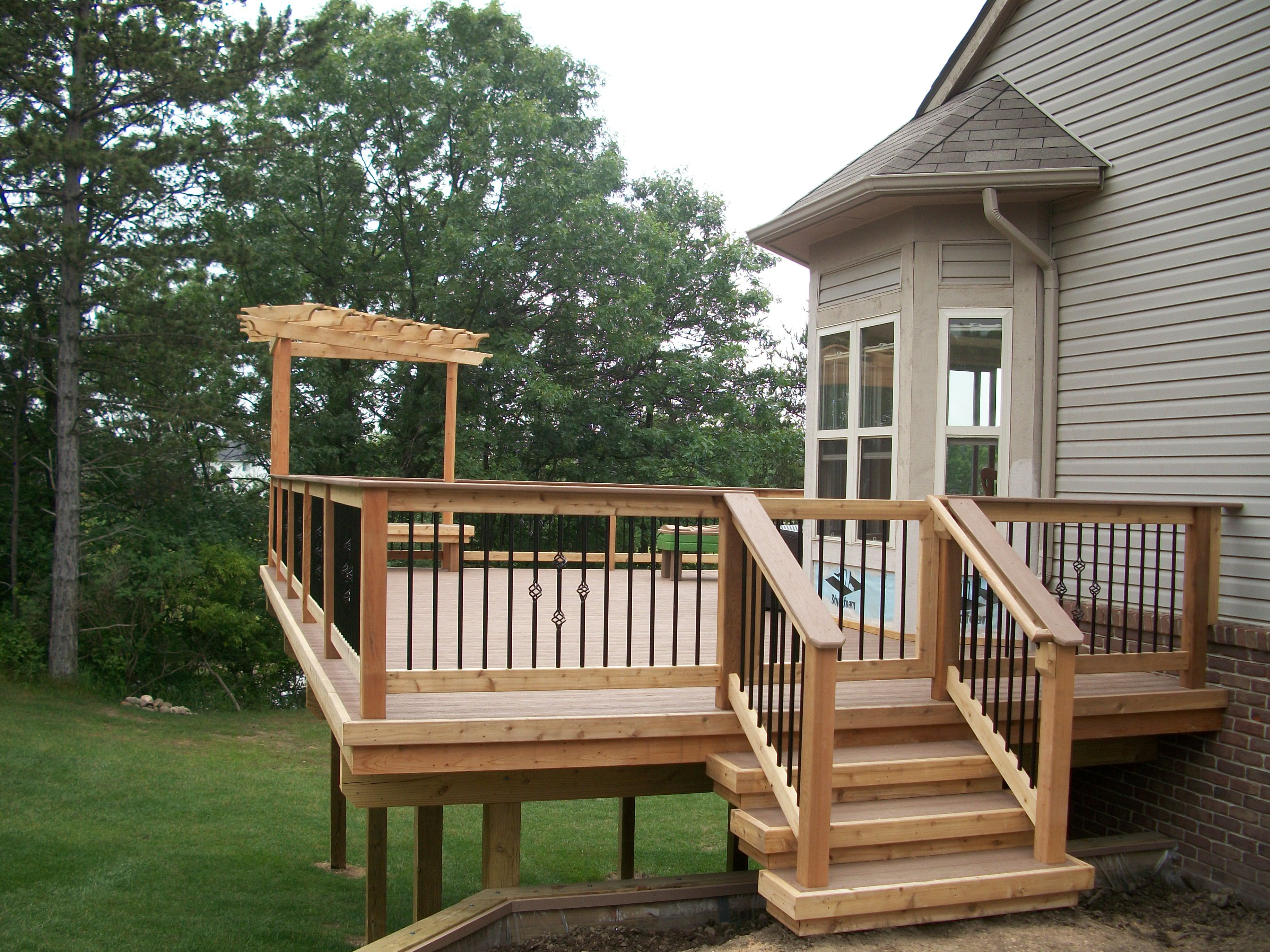Images Of Decks With Pergolas Halflifetrinfo