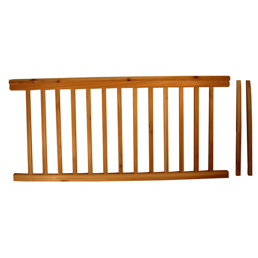 deck balusters lowes