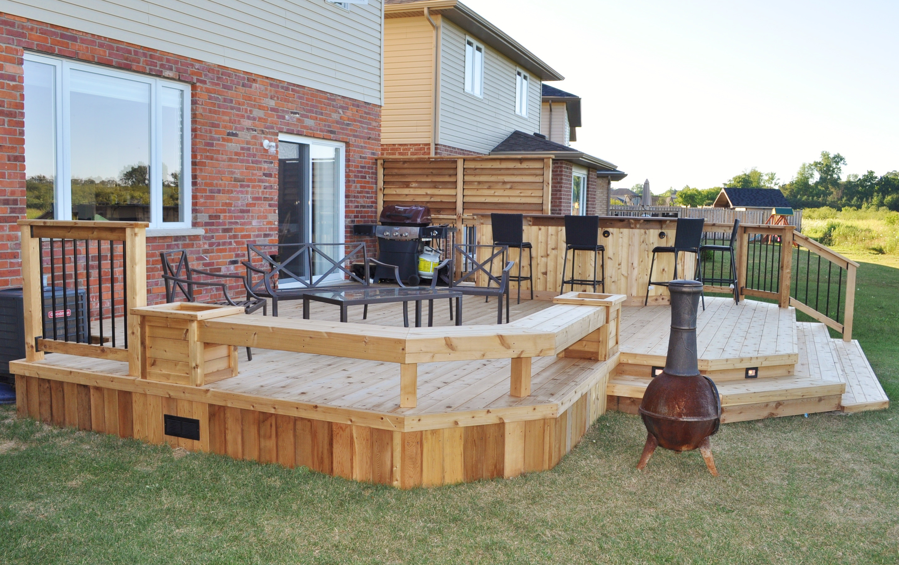 deck bar pictures