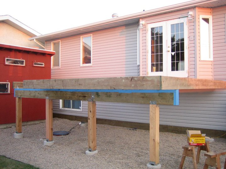 deck beam construction