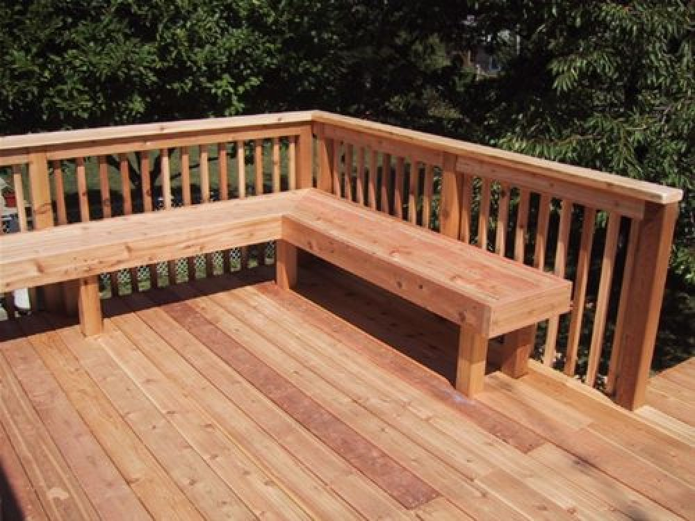 deck benches pictures