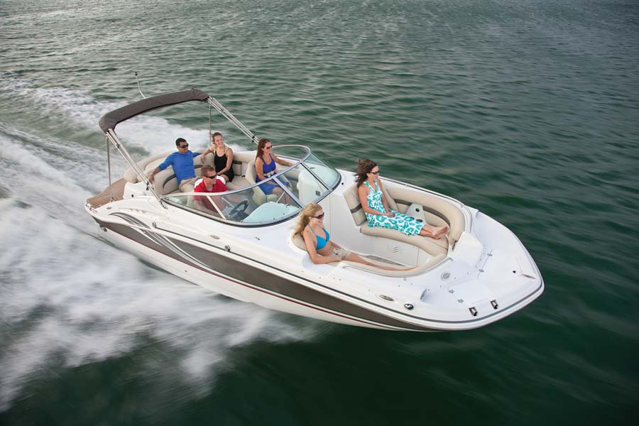 deck boat pictures
