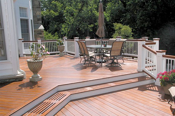 deck colors for tan house